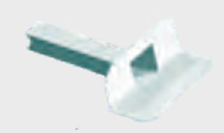 Imagen de Desagüe blanco para balcón