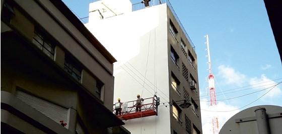 Imagen de Pintura de contrafrentes y paredes
