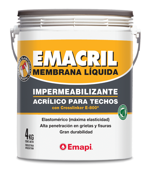 Imagen de Emacril Techos Fibrados 20 kg