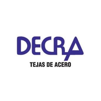 Logo de la marca Decra